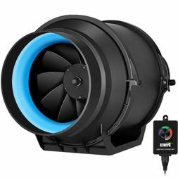 iPower 4/6/8 Inch Inline Duct Fan Variable Speed Controller