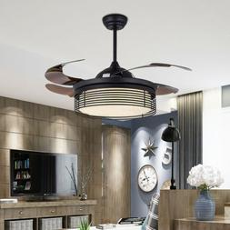 """42"""" Ceiling Fan with LED Light and Remote Control Color Temp"""
