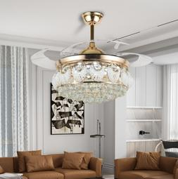 42 home crystal lamps lighting ceiling fans