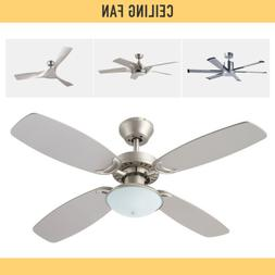 52 inch 56 inch Indoor Ceiling Fan with LED Light Remote Con