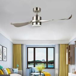 52-Inch Ceiling Fan Remote Control 2 ABS Blades LED Light Ki