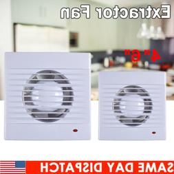 """ABS 4 6"""" Wall Ventilation Extractor Exhaust Fan Blower Windo"""