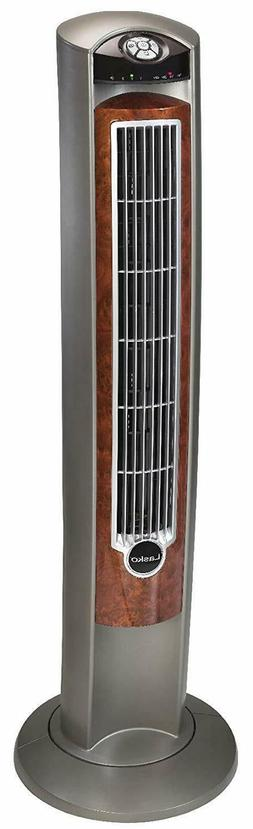 Air Ionizer Tower Fan Oscillating Standing Floor Portable Ve