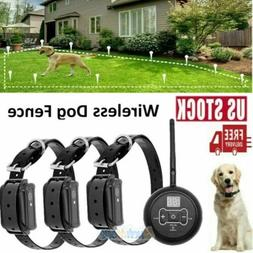 electric dog fence system waterproof shock collars