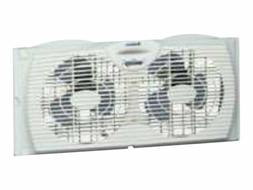 Holmes Twin Window Fan with Reversible Air Flow Control
