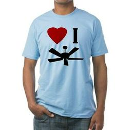 CafePress I Love Fans Adult Sized Fitted T Shirt Fitted Tee
