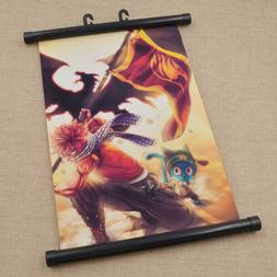 Japanese Anime Fairy Tail Wall Scroll Fans Home Poster Fans