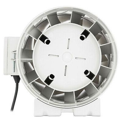 "3"" 4"" 6"" 8"" Inline Duct Fan Mixed Flow Two Automatic"