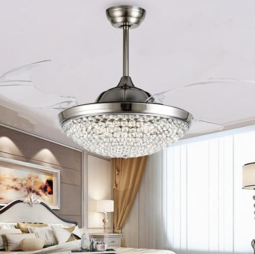 """42"""" Silver/Gold Ceiling Light"""