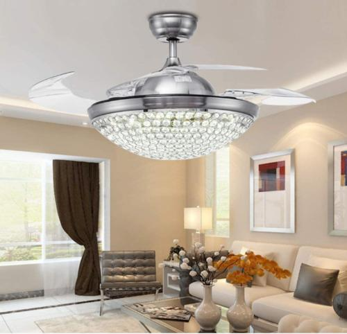 """42"""" Silver/Gold Remote Ceiling"""
