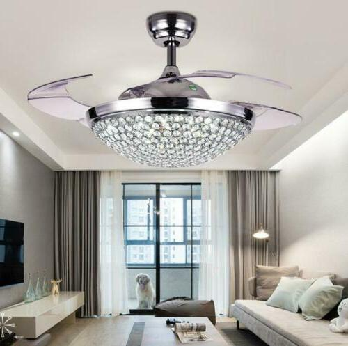 42 silver gold remote retractable ceiling fans