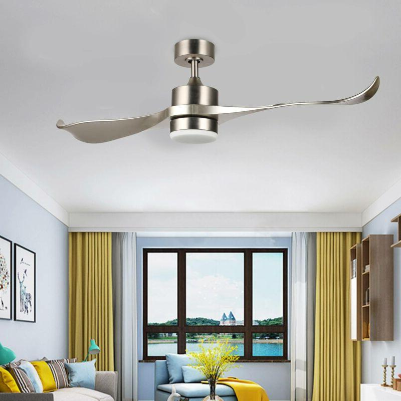 moden ceiling fan with remote low profile