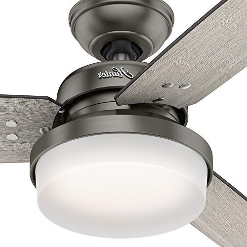 Hunter 59458 Ceiling Fan with with Brushed Slate