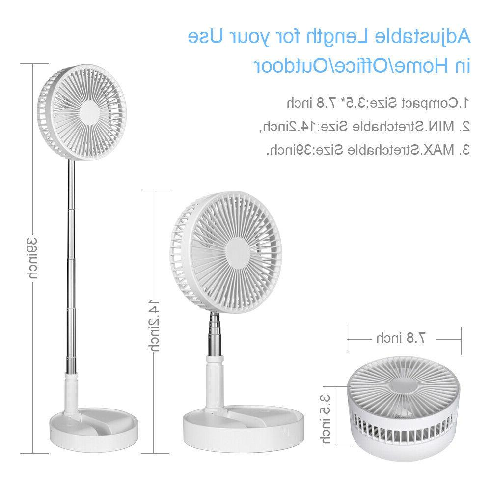 Battery Operated Fan Table Portable