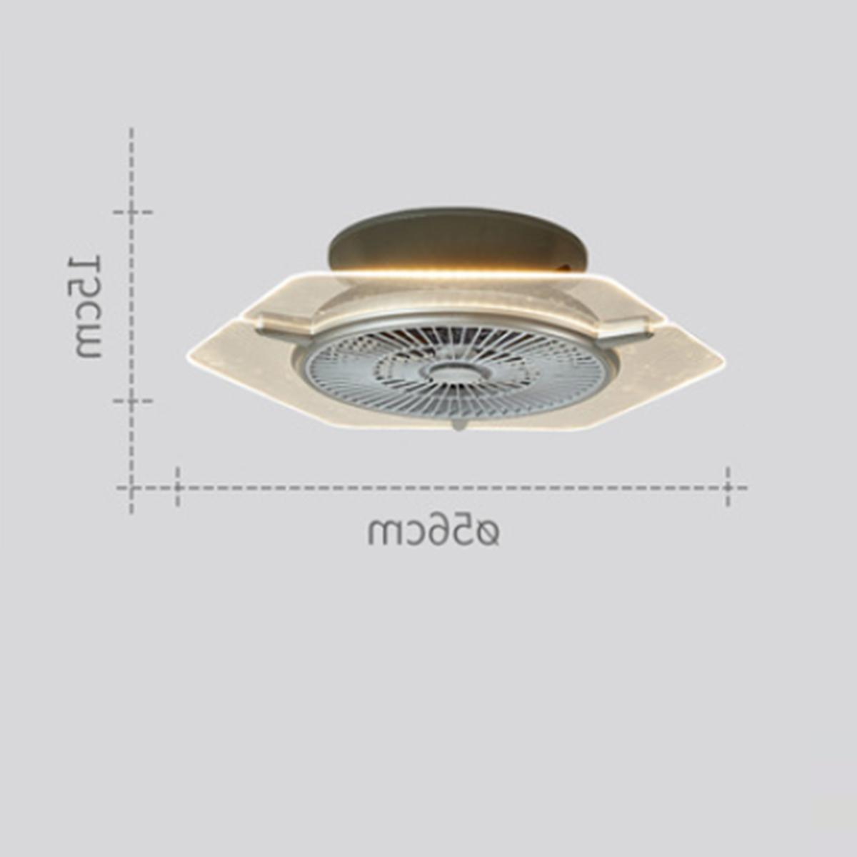 Ceiling Fan Light kit and Remote Control LED Lamp Dimmable