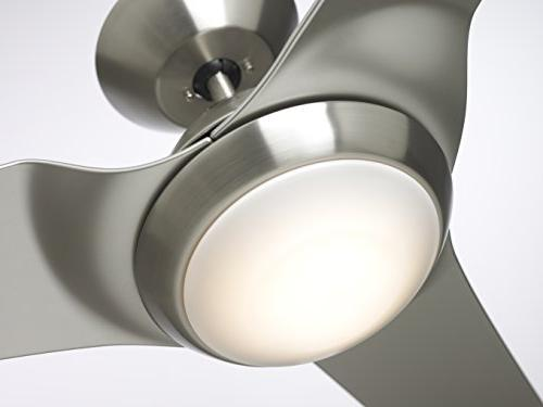Emerson CF275BS Sweep Eco Fan, 3-Blade with LED Lighting Wall Control
