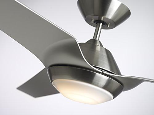 Emerson Sweep Ceiling 3-Blade with LED Lighting Wall Control