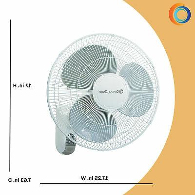 Comfort Quiet 3-Speed Fan with Remote