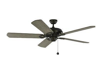 fans york 60 inch aged pewter ceiling