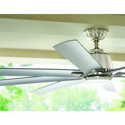 Kensgrove in. Integrated LED Brushed Nickel Ceiling