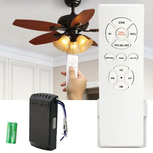 Wireless Ceiling Fan Lamp Receiver Controller Remote Light T