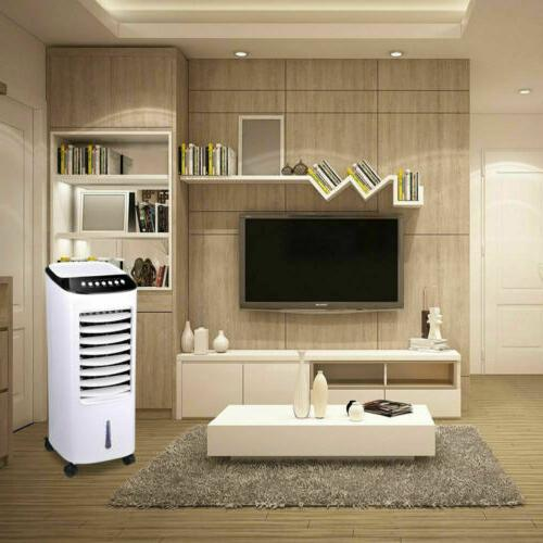 Portable Cooler Indoor Evaporative Cooling Humidifier Remote Control