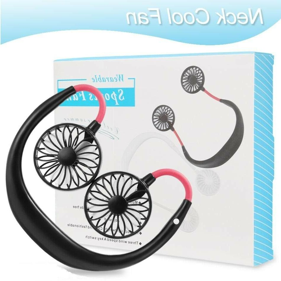Portable Hanging Neck Fan Rechargeable