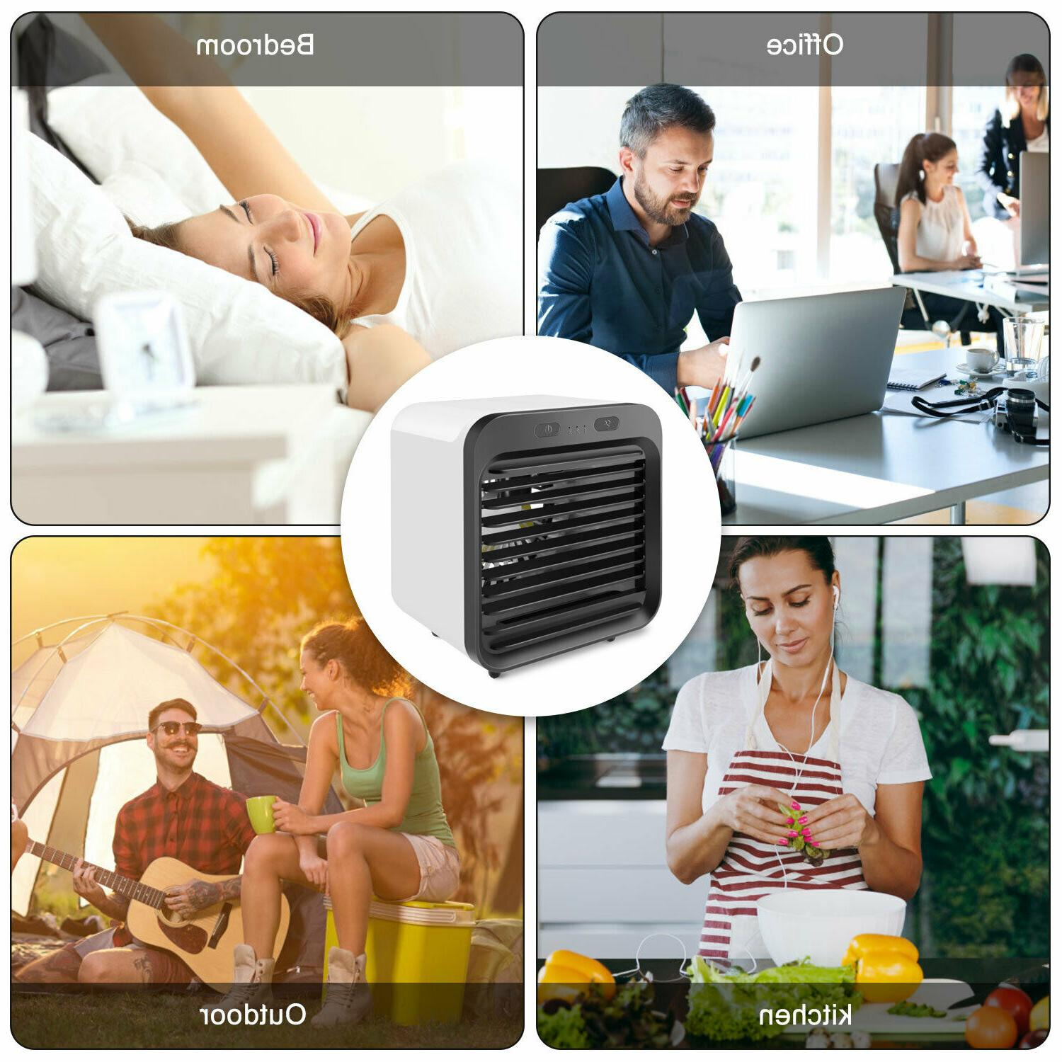 Portable Air Cooler Cooling Humidifier Purifier