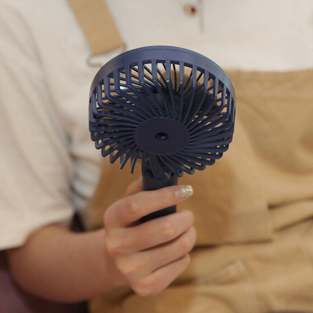Portable Fan Hand Handheld USB Rechargeable Battery