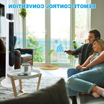 Air Circulator Fan Remote 12H Quiet Home