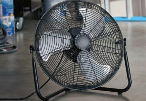 Wall and Metal Fan High Velocity Three Blades Home