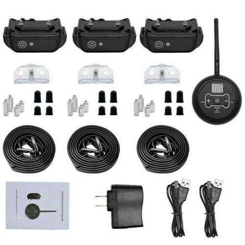 Waterproof Electric For 1/2/3 Dog Containment System Shock
