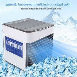 Mini Air Conditioner Cooling Air Fan Humidifier Purifier Per