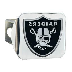 Fanmats NFL Oakland Raiders 3D Chrome on Chrome Hitch Cover