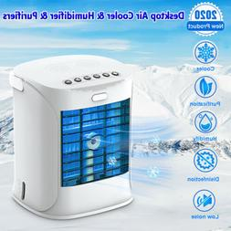 Portable Air Conditioner Cooler Fan Evaporative Humidifier A