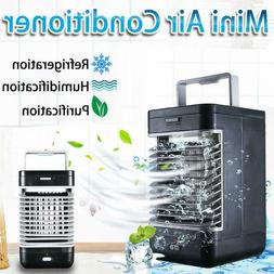 Portable Mini AC Air Conditioner Personal Cooling Fans Bedro