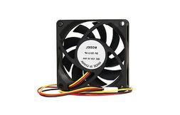 Generic SF-7015-3P Computer PC Case Fan w/3-Pin Connector Bl