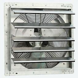 iLIVING 18 Inch Variable Speed Shutter Exhaust Fan, Wall-Mou